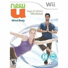 New U Mind Body, Yoga & and Pilates Workout USED SEALED NINTENDO Wii & Wii U