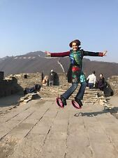 Kangoo Jumps type rebounding boots Bounce Boots by Dianna Rojas