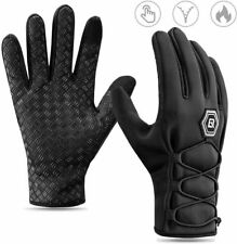RockBros Winter Cycling Full Finger Gloves Warm Touch Screen Water-proof Gloves