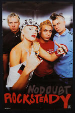 Rare Vintage 2002 No Doubt Poster Rock Steady Album Promo Music Gwen Stefani N5