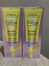 Loreal EverPure - Blonde Shade Reviving Treatment  4.2oz pack of 2