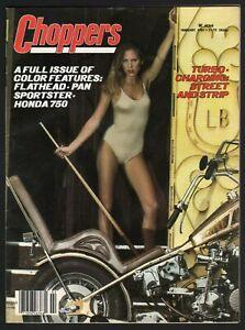 1981 February Choppers - Vintage Motorcycle Magazine