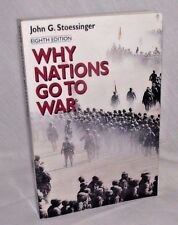 Why Nations Go to War John Stoessinger History International Relations Maps PB