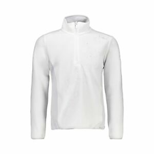 CMP Fleece Pullover Jumper Girl Sweat White Breathable Warming Quick-Drying