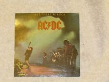 VINTAGE~COLLECTIBLE~AC/DC MUSIC-MEMORABILLIA~STICKER-LET THERE BE ROCK