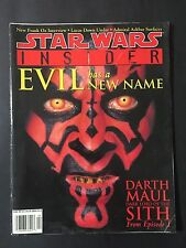 Star Wars Insider Issue 42  Darth Maul Evil Has A New Name