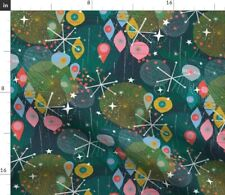 New listing Xmas Holiday Maximalist Spoonflower Fabric by the Yard