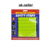 "Made In USA 4pc 18/"" x 18/"" Hi Viz Yellow Mesh Safety Flags w//Stick"