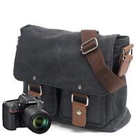 SLR Camera PhotographyTravel Messenger Shoulder Bag Satchel for Canon Nikon Sony