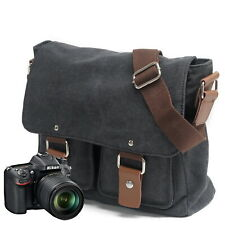 SLR Camera PhotographyTravel Messenger Shoulder Bag Satchel for Canon Nikon Sony