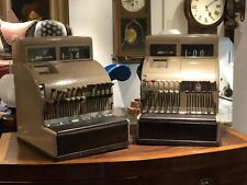 More details for pair of old national cash registers