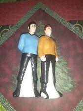 Classic Star Trek Captain Kirk and Mr. Spock Salt and Pepper Shakers 2011