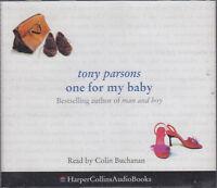Tony Parsons One For My Baby 4CD Audio Book Abridged Colin Buchanan FASTPOST