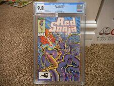 Red Sonja 5 cgc 9.8 Marvel 1985 MINT WHITE pg GREAT Pat Broderick cover V3 movie