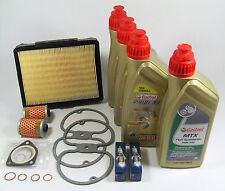 BMW R 100/80 GS 2V Boxer ohne Ölkühler 25.000km Service Kit Ölwechsel Castrol