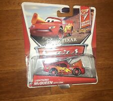 2012 Disney Pixar Cars Lightning McQueen with Cone Die-Cast Toy Vehicle New
