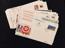 20 CHINA FIRST DAY COVERS 1994-1997 INCLUDES 9 WITH SOUVENIR SHEETS