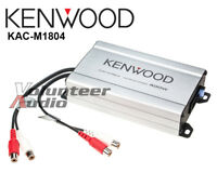 Kenwood KAC-M1804 Marine Class D 4 Channel Amplifier 400 Watt max Amp