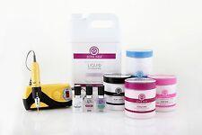 Synergy Acrylic Starter Kit Pro- Yellow 3--> includes monomer & E-File!!
