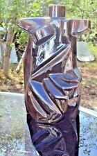 sculpture en Céramique art déco  signature a identifier.