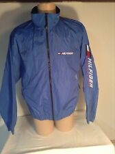 Tommy Hilfiger Vintage Windbreaker Jacket Sleeve Spellout Nylon Men L  Baby blue