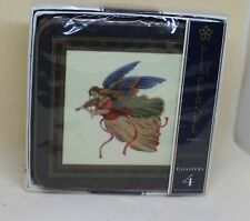 New Pimpernel Christmas  Angel Coasters (4)