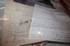 37 Related McGilvery Family Ship's Captain's letters Searsport Maine 1890 China