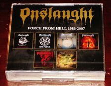 Onslaught: Force From Hell 1983-2007 6 CD Box Set: Power Search Killing Live NEW