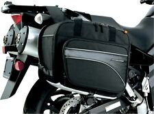 Dual Sport Bike Motorcycle Touring Saddlebags Nelson Rigg CL-855 Black