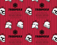 STORM TROOPERS FABRIC  STAR WARS THE FORCE AWAKENS  CAMELOT COTTONS  BY THE YARD