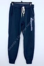 NWT Abercrombie Women's jogger Sweatpants Navy XS