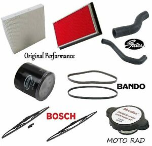 Tune UP KIT Filters Blades Hoses Belts FIT Infiniti G35 3.5L 2003 (Coupe; Sedan)
