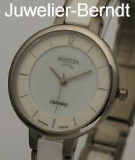 Boccia Titanium Damen Quarz Uhr aus Titan und Keramik 3236-01 !! NEU !!
