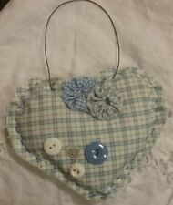 Country style Vintage Heart Pin Cushion