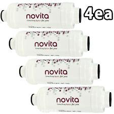 Water Purifying Ion Filter for Bidet Seat 15mm Screw Type 4ea Set BF-100 Novita