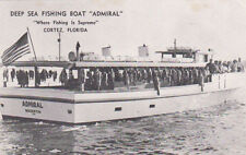 "Deep Sea Fishing Boat ""ADMIRAL"" , CORTEZ , Florida , PU-1968"