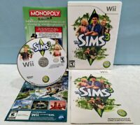The Sims 3 (Nintendo Wii, 2010) Complete with Manual - Tested & Working