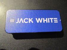 JACK WHITE metal Guitar Pick Tin +6 picks BOARDING HOUSE REACH third man stripes