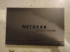 Lot Used Netgear R6300 Router & Prosafe Fvs318G Firewall,Linksys Wrt54G Router