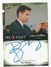 David Duchovny / Fox The X Files Ufos & Aliens Paranormal Script Autograph Card