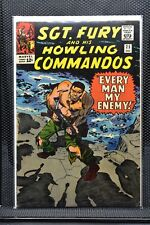 Sgt Fury and His Howling Commandos #25 Marvel Silver Age Comic 1965 Stan Lee 4.5