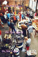 Porsche Garage Le Mans 1972 Photograph