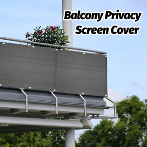 5M Balcony Privacy Screen Sunshade Panel Wind Protection Windbreak Fence New