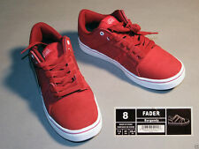 Lotek skateboard, Bmx shoes mens sizes 8, color, burgundy w/white soles