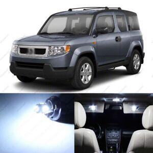 8 x White LED Interior Light Package For 2003 - 2006 09 -11 Honda Element + TOOL
