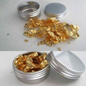 E-175 food grade  100% Pure 24k Gold Leaf Edible flakes