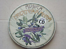 MUSICA MEDITERRANEA ,ESPANA,GREECE,ITALIA,FRANCE,,,, music CD   free post