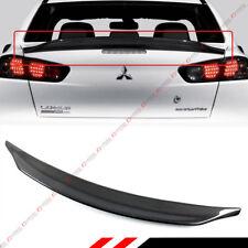 For 2008-17 Mitsubishi Lancer EVO X 10 Duckbill Carbon Fiber Trunk Spoiler Wing
