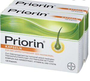 Priorin Kapseln 2x120 Stück - Versorgt die Haarwurzel mit Mikronährstoffen OVP