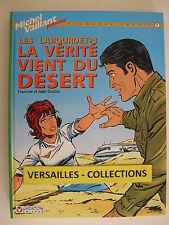 BD Michel Vaillant palmares inédit Les Labourdet n° 7 La  vérité vient du désert